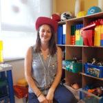 Moana Gaderer-Marchand, stagiaire en technique d'éducation à l'enfance du CEGEP Marie-Victorin